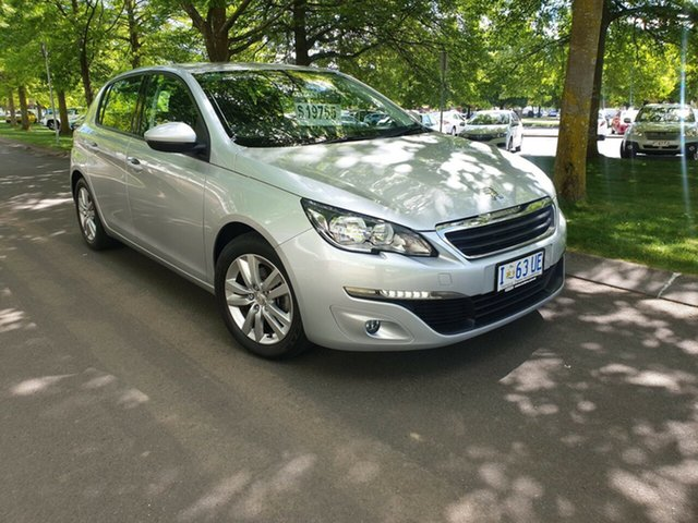 Used Peugeot 308 T9 MY17 Active Launceston, 2017 Peugeot 308 T9 MY17 Active Silver 6 Speed Sports Automatic Hatchback
