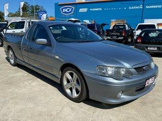2005 Ford Falcon BA Mk II XR6 Ute Super Cab Grey 4 Speed Sports Automatic Utility.