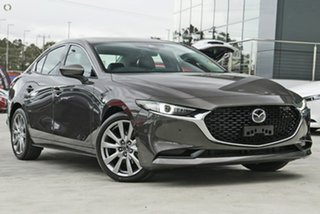 2020 Mazda 3 BP2SLA G25 SKYACTIV-Drive Astina Grey 6 Speed Sports Automatic Sedan.
