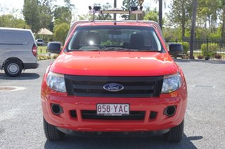 2013 Ford Ranger PX XL Red 5 Speed Manual Cab Chassis