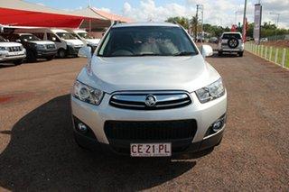 2012 Holden Captiva CG Series II MY12 7 AWD CX Premium Silver 6 Speed Automatic Wagon.