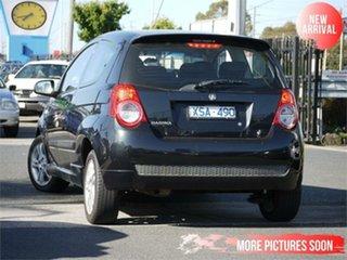 2010 Holden Barina TK MY10 Black 5 Speed Manual Hatchback.