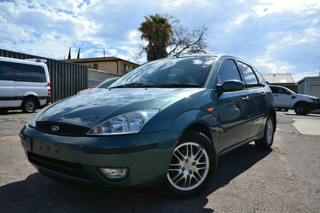 Used Ford Focus LR CL Blair Athol, 2002 Ford Focus LR CL Blue 4 Speed Automatic Hatchback
