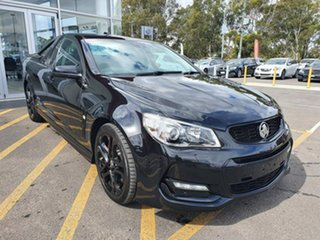 2017 Holden Ute VF II MY17 SS V Ute Redline Black 6 Speed Sports Automatic Utility.
