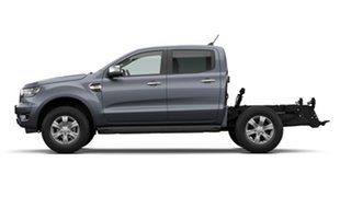 2020 Ford Ranger PX MkIII 2021.25MY XLT Double Cab Grey 6 Speed Sports Automatic Double Cab Chassis.