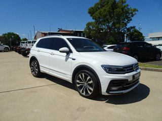 2017 Volkswagen Tiguan 5N MY18 162TSI DSG 4MOTION Highline Pure White 7 Speed.