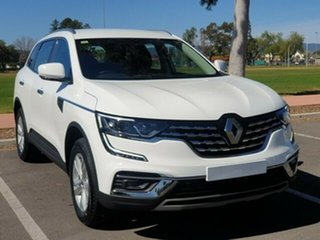 2020 Renault Koleos HZG MY20 Life X-tronic White Solid 1 Speed Constant Variable Wagon.