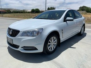 2013 Holden Commodore VF MY14 Evoke White 6 Speed Sports Automatic Sedan.