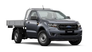 2020 Ford Ranger PX MkIII 2021.25MY XL Meteor Grey 6 Speed Manual Single Cab Chassis