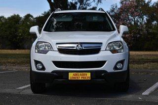 2013 Holden Captiva CG MY13 5 LT White 6 Speed Sports Automatic Wagon.