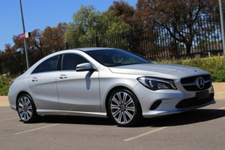 2017 Mercedes-Benz CLA-Class C117 808+058MY CLA200 DCT Silver 7 Speed Sports Automatic Dual Clutch