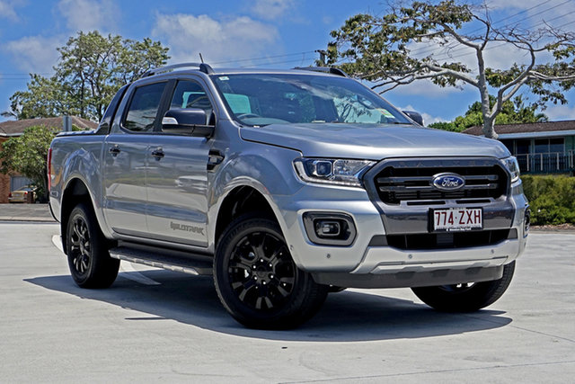 Used Ford Ranger PX MkIII 2020.75MY Wildtrak Capalaba, 2020 Ford Ranger PX MkIII 2020.75MY Wildtrak Aluminium 6 Speed Sports Automatic Double Cab Pick Up