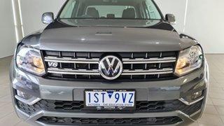 2017 Volkswagen Amarok 2H MY18 TDI550 4MOTION Perm Sportline Grey 8 Speed Automatic Utility.