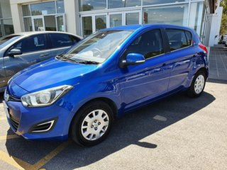 2012 Hyundai i20 PB MY12 Active Blue 4 Speed Automatic Hatchback.