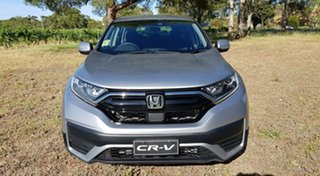2020 Honda CR-V RW MY21 VTi FWD 7 Lunar Silver 1 Speed Automatic Wagon.