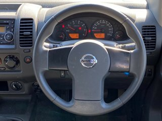 2010 Nissan Navara D40 RX White 6 Speed Manual Utility