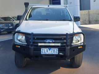 2012 Ford Ranger XL White 6 Speed Automatic DC/CHASSIS