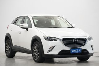 2015 Mazda CX-3 DK2W7A sTouring SKYACTIV-Drive White 6 Speed Sports Automatic Wagon