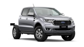 2020 Ford Ranger PX MkIII 2021.25MY XLT Double Cab Silver 6 Speed Sports Automatic