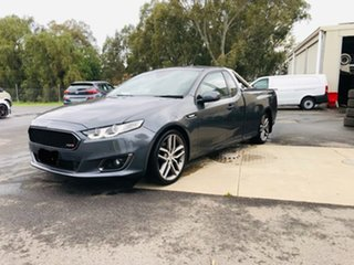 2015 Ford Falcon FG X XR6 Ute Super Cab Turbo Grey 6 Speed Manual Utility