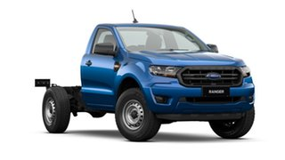 2020 Ford Ranger PX MkIII 2021.25MY XL Hi-Rider Blue 6 Speed Sports Automatic Single Cab Chassis