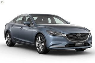 2020 Mazda 6 GL1033 Atenza SKYACTIV-Drive Blue 6 Speed Sports Automatic Sedan.