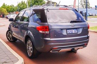 2011 Ford Territory SZ Titanium Seq Sport Shift Grey 6 Speed Sports Automatic Wagon.