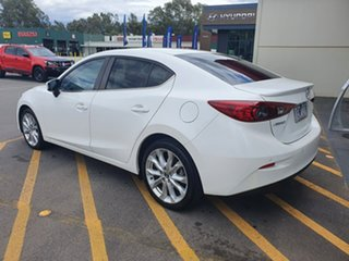 2015 Mazda 3 BM5236 SP25 SKYACTIV-MT White 6 Speed Manual Sedan