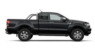 2021 Ford Ranger PX MkIII 2021.25MY XLT Shadow Black 6 Speed Sports Automatic Super Cab Pick Up