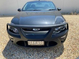 2013 Ford Falcon FG MK2 XR6 Grey 6 Speed Auto Seq Sportshift Utility.