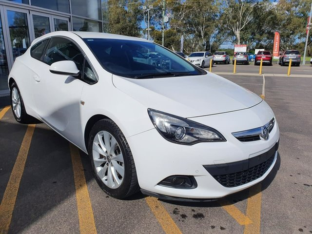Used Holden Astra PJ MY15.5 GTC Epsom, 2015 Holden Astra PJ MY15.5 GTC White 6 Speed Automatic Hatchback