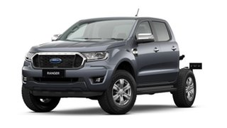 2021 Ford Ranger PX MkIII 2021.25MY XLT Double Cab Meteor Grey 10 Speed Sports Automatic