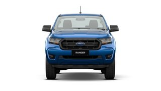 2020 Ford Ranger PX MkIII 2021.25MY XL Hi-Rider Blue 6 Speed Sports Automatic Single Cab Chassis.