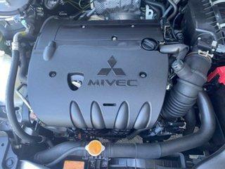 2011 Mitsubishi Lancer CJ MY11 SX Silver 5 Speed Manual Sedan