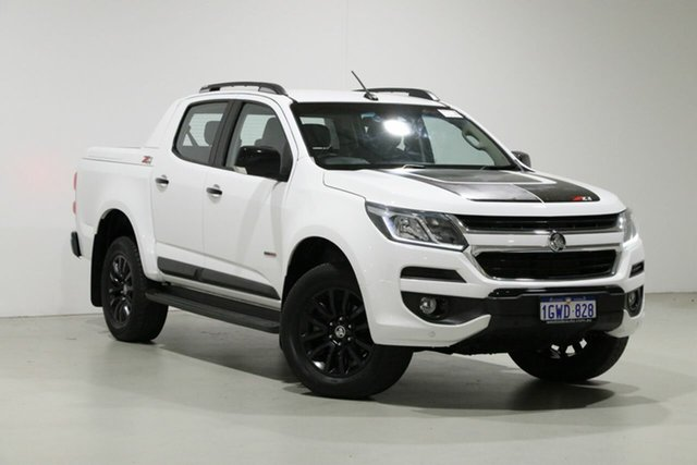 Used Holden Colorado RG MY18 Z71 (4x4) Bentley, 2018 Holden Colorado RG MY18 Z71 (4x4) White 6 Speed Manual Crew Cab Pickup