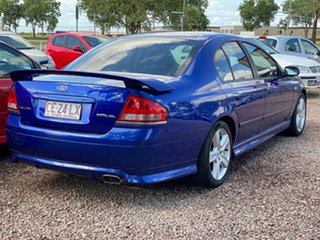2003 Ford Falcon BA XR6 Blue 4 Speed Sports Automatic Sedan