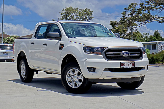 Used Ford Ranger PX MkIII 2020.25MY XLS Capalaba, 2020 Ford Ranger PX MkIII 2020.25MY XLS Arctic White 6 Speed Sports Automatic Double Cab Pick Up