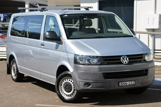 2010 Volkswagen Transporter T5 MY10 Low Roof LWB DSG Silver 7 Speed Sports Automatic Dual Clutch Van.