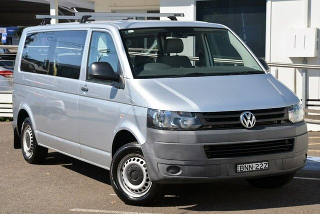 Used Volkswagen Transporter T5 MY10 Low Roof LWB DSG North Gosford, 2010 Volkswagen Transporter T5 MY10 Low Roof LWB DSG Silver 7 Speed Sports Automatic Dual Clutch Van