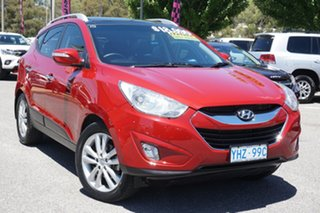 2012 Hyundai ix35 LM MY12 Highlander AWD Red 6 Speed Sports Automatic Wagon.