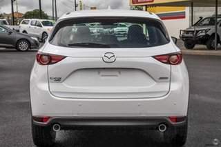 2020 Mazda CX-5 KF4WLA Akera SKYACTIV-Drive i-ACTIV AWD White 6 Speed Sports Automatic Wagon.