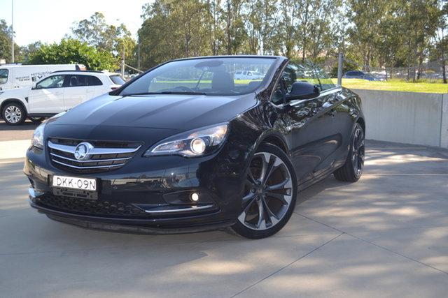 Used Holden Cascada CJ MY16 Maitland, 2016 Holden Cascada CJ MY16 Black 6 Speed Sports Automatic Convertible