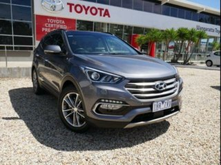 2016 Hyundai Santa Fe DM Series II (DM3) Highlander CRDi (4x4) Silver 6 Speed Automatic Wagon.