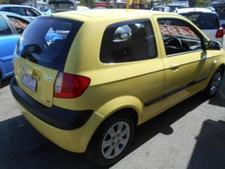 2006 Hyundai Getz TB MY06 Yellow 5 Speed Manual Hatchback