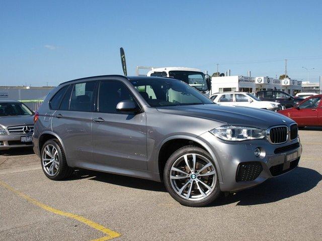 Used BMW X5 F15 xDrive30d Cheltenham, 2016 BMW X5 F15 xDrive30d Grey 8 Speed Sports Automatic Wagon