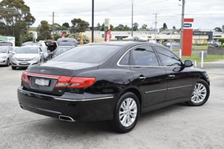 2010 Hyundai Grandeur TG MY11 Black 5 Speed Sports Automatic Sedan