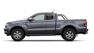 2020 Ford Ranger PX MkIII 2021.25MY XLT Meteor Grey 10 Speed Sports Automatic Super Cab Pick Up.
