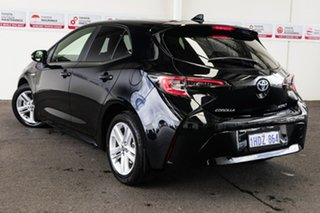 2019 Toyota Corolla ZWE211R SX E-CVT Hybrid Eclipse Black 10 Speed Constant Variable Hatchback.