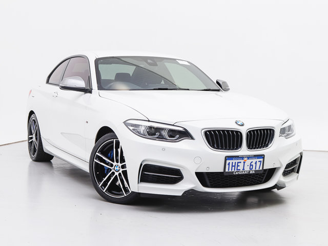 Used BMW M240i F22 MY18 M240I, 2018 BMW M240i F22 MY18 M240I White 8 Speed Automatic Coupe