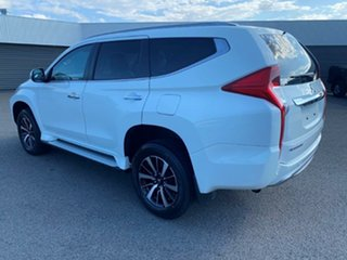 2018 Mitsubishi Pajero Sport QE MY18 GLS White Solid 8 Speed Sports Automatic Wagon